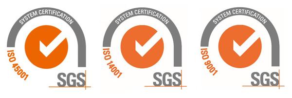 Loghi certificazioni ISO Adler